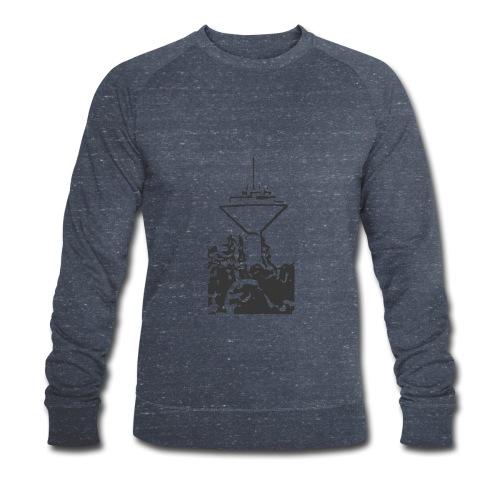 Wasserturm Rottweil schwarz - Männer Bio-Sweatshirt von Stanley & Stella