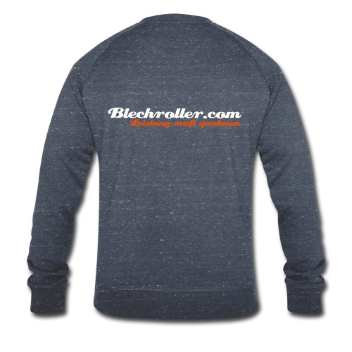 blechroller logo - Männer Bio-Sweatshirt