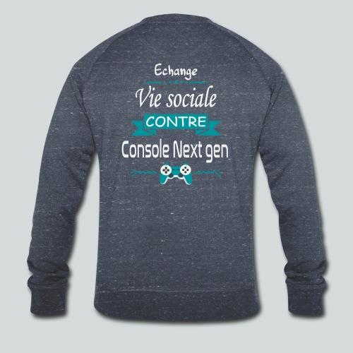 Echange vie sociale contre console Next Gen - Sweat-shirt bio Stanley & Stella Homme