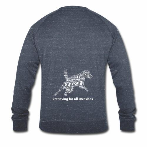 Retrieving for All Occasions wordcloud vitt - Ekologisk sweatshirt herr från Stanley & Stella