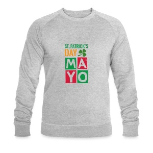 Celebrate St. Patrick's Day in Mayo - Men's Organic Sweatshirt by Stanley & Stella