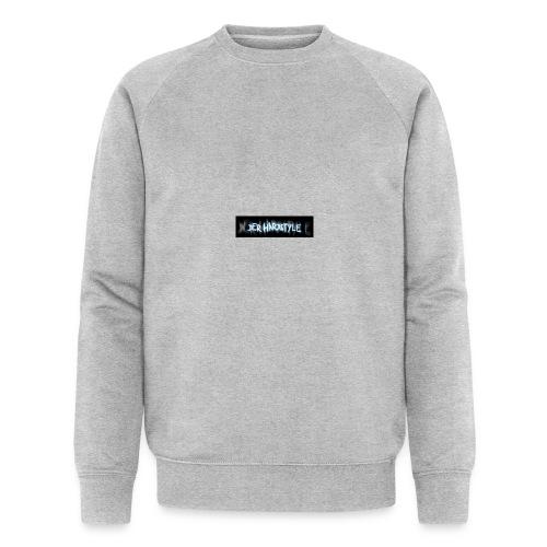 DerHardstyle.ch Kleines Logo - Männer Bio-Sweatshirt von Stanley & Stella
