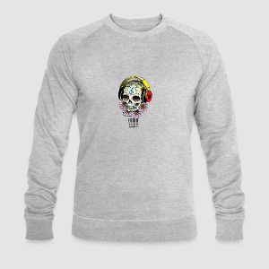 smiling_skull - Men's Organic Sweatshirt by Stanley & Stella