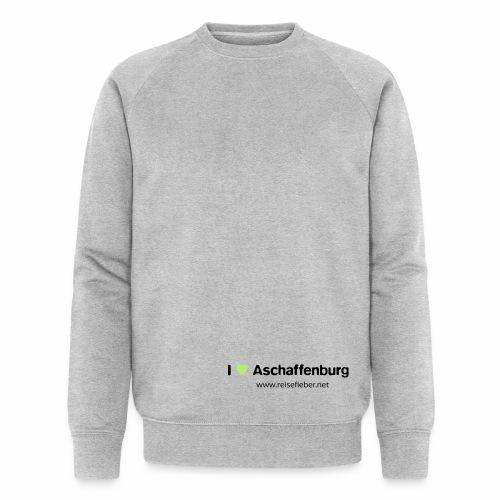 I love Aschaffenburg - Männer Bio-Sweatshirt von Stanley & Stella