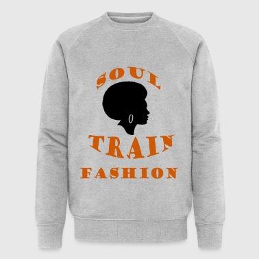 Soul Train Fashion - Men's Organic Sweatshirt by Stanley & Stella