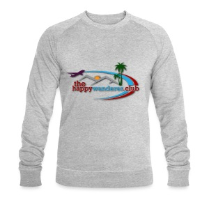 The Happy Wanderer Club - Men's Organic Sweatshirt by Stanley & Stella