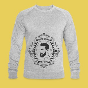 No Beard No Pain - Sweat-shirt bio Stanley & Stella Homme