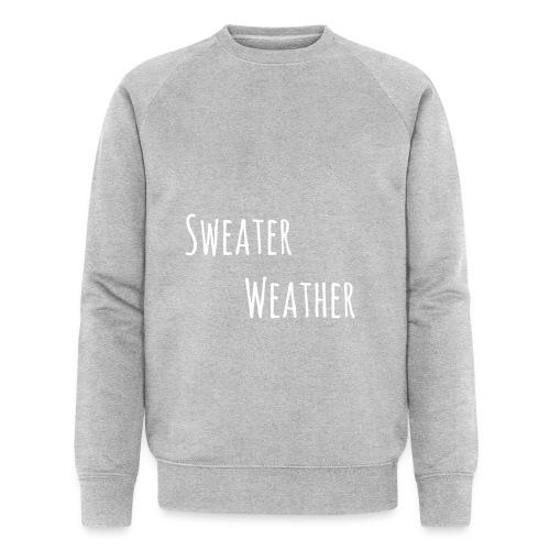 sweaterwea therwhite - Männer Bio-Sweatshirt von Stanley & Stella
