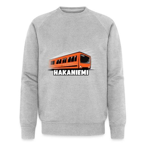 13- METRO HAKANIEMI - HELSINKI - LAHJATUOTTEET - Stanley & Stellan miesten luomucollegepaita