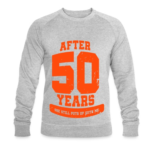 Ü50 Über 50 Jahre 50th - colorize - Männer Bio-Sweatshirt von Stanley & Stella