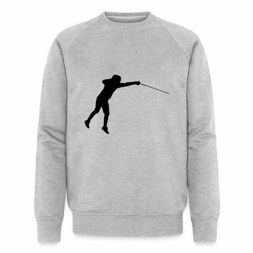 Jumping Fencer - Männer Bio-Sweatshirt von Stanley & Stella