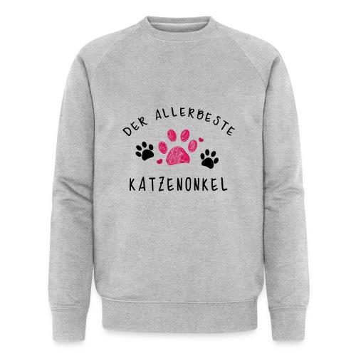Der allerbeste Katzenonkel - Männer Bio-Sweatshirt von Stanley & Stella