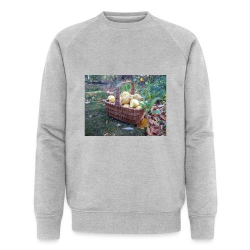 Quitten-Korb - Männer Bio-Sweatshirt von Stanley & Stella