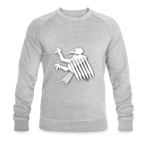 Nörthstat Group ™ White Alaeagle - Men's Organic Sweatshirt by Stanley & Stella