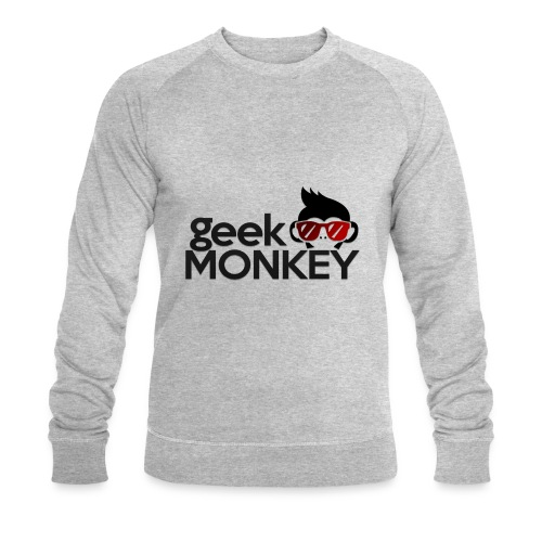 Geek Monkey 1 - Sudadera ecológica hombre de Stanley & Stella