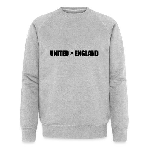 United > England - Men's Organic Sweatshirt by Stanley & Stella