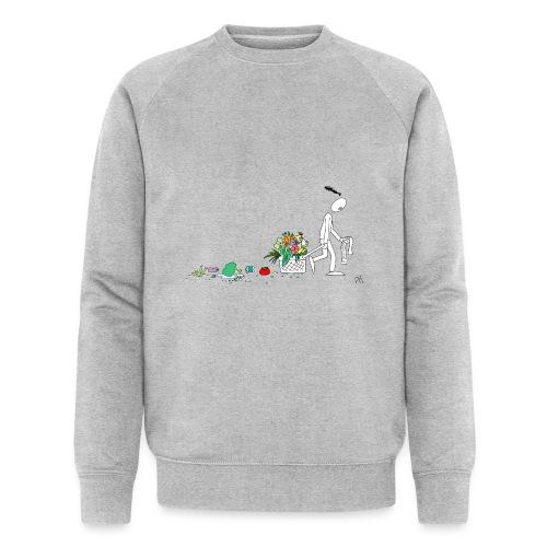 frukt og grønt handleveske - Økologisk sweatshirt for menn fra Stanley & Stella
