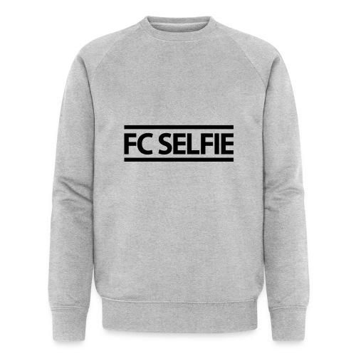 FCSELFIE Logo-Print - Männer Bio-Sweatshirt von Stanley & Stella