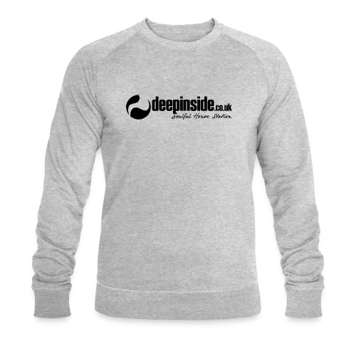 DEEPINSIDE Soulful House Station (Legendary logo) - Men's Organic Sweatshirt by Stanley & Stella