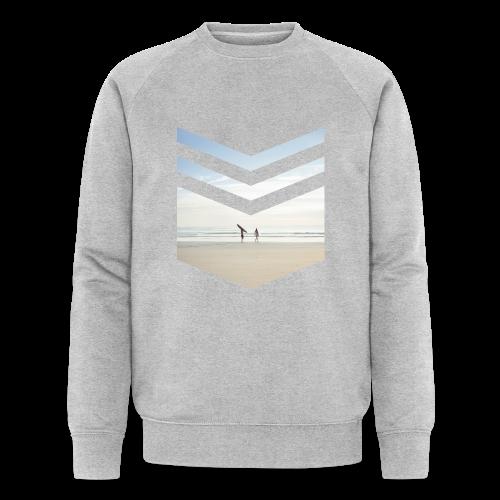 Surfing Beach - Männer Bio-Sweatshirt von Stanley & Stella