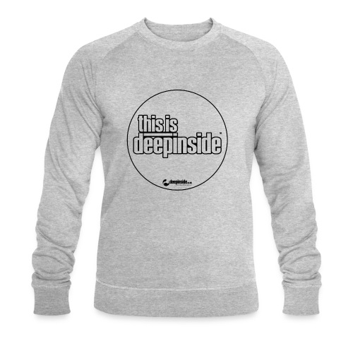 This is DEEPINSIDE Circle logo black - Men's Organic Sweatshirt by Stanley & Stella
