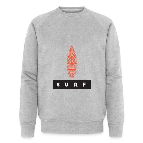 Surfing Hero by Te-Moana - Männer Bio-Sweatshirt von Stanley & Stella