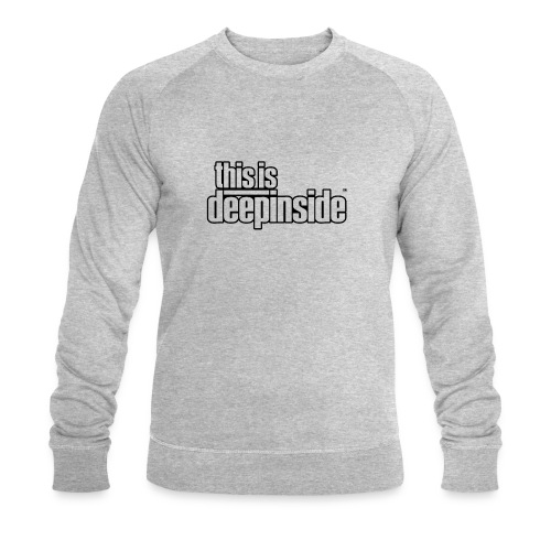 This is DEEPINSIDE logo black - Men's Organic Sweatshirt by Stanley & Stella