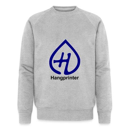 Hangprinter logo and text - Ekologisk sweatshirt herr från Stanley & Stella