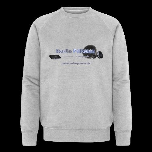 Radio PARALAX Facebook-Logo mit Webadresse - Männer Bio-Sweatshirt von Stanley & Stella