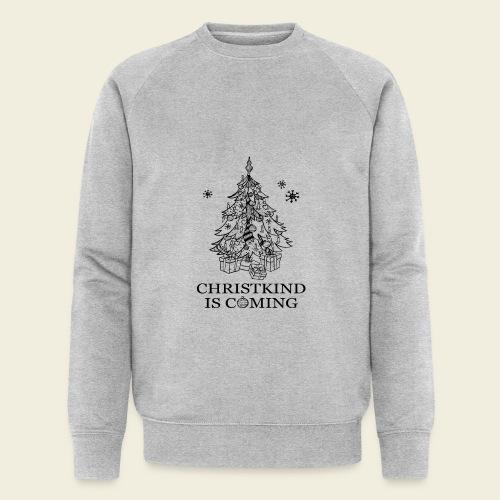 Christkind kommt - Männer Bio-Sweatshirt von Stanley & Stella