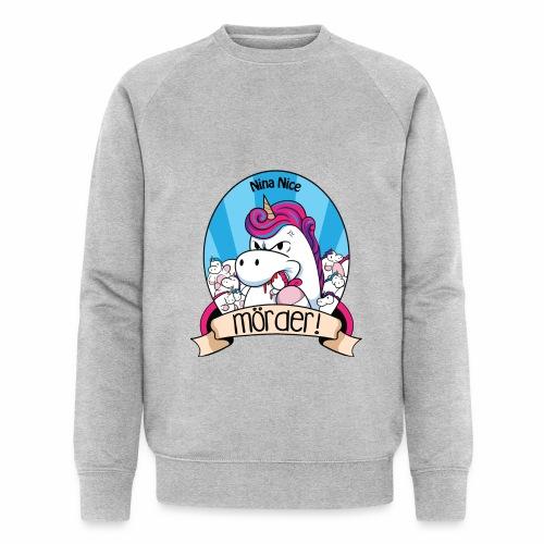 Murder Unicorn - Männer Bio-Sweatshirt von Stanley & Stella