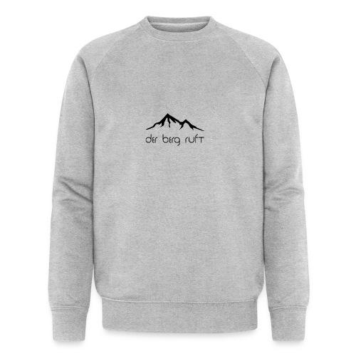 Der Berg ruft schwarz - Männer Bio-Sweatshirt von Stanley & Stella