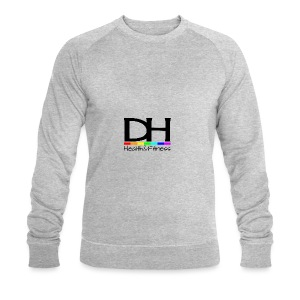 DH Health&Fitness Large logo - Men's Organic Sweatshirt by Stanley & Stella