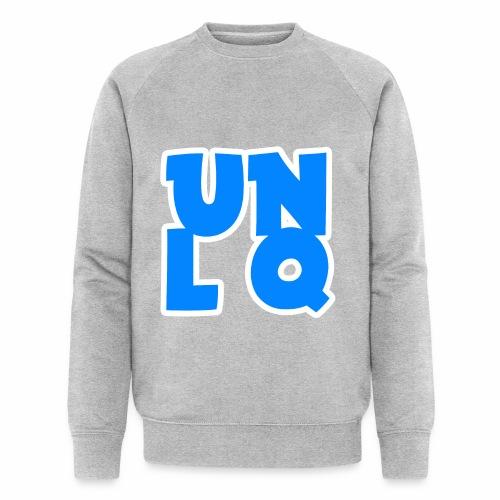 Mit dem Orginalen UNLQ Logo - Männer Bio-Sweatshirt von Stanley & Stella