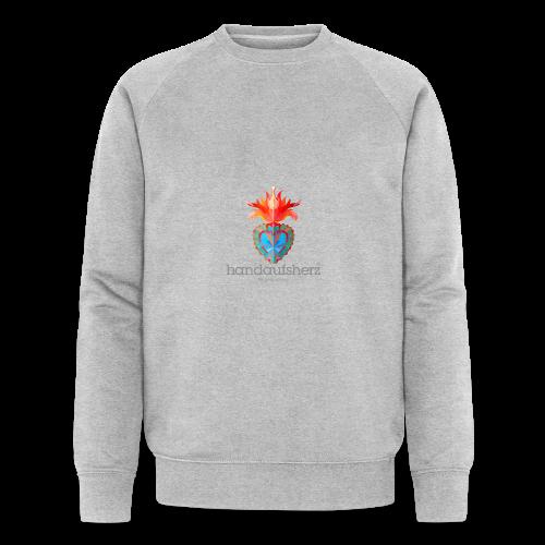 Hand aufs Herz - Männer Bio-Sweatshirt von Stanley & Stella