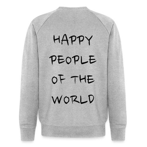 Happy People Of The World - Mannen bio sweatshirt van Stanley & Stella