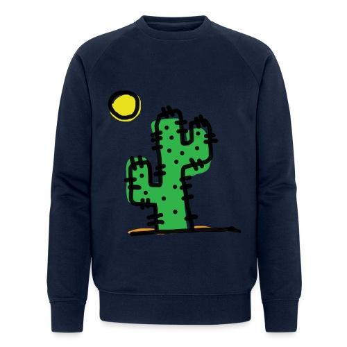 Cactus single - Felpa ecologica da uomo