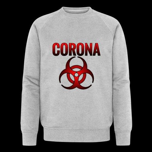 Corona Virus CORONA Pandemie - Männer Bio-Sweatshirt von Stanley & Stella