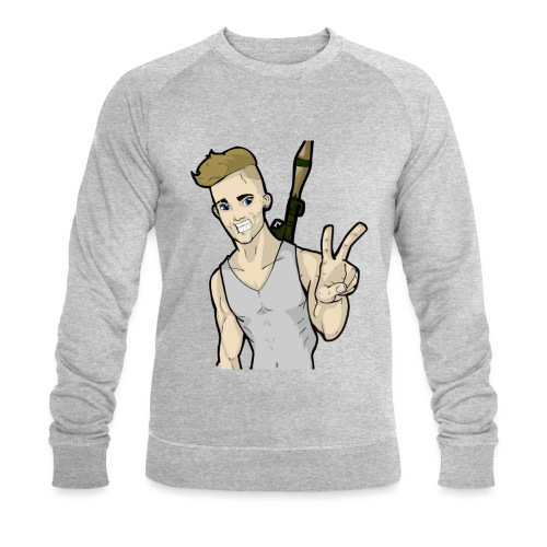 Moiscarfe Figure - Men's Organic Sweatshirt