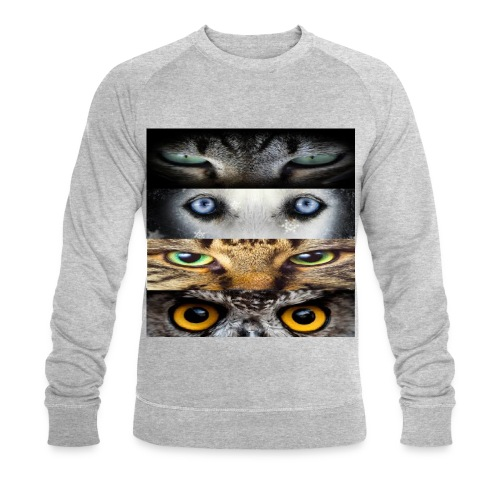 eyes cats - Sweat-shirt bio