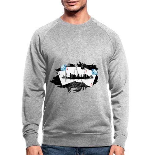 HHskyline - Männer Bio-Sweatshirt