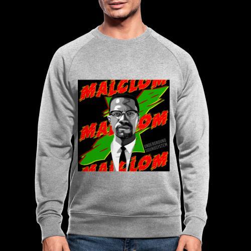 MALCOM by UNDERGROUND SOUNDSYSTEM - Männer Bio-Sweatshirt