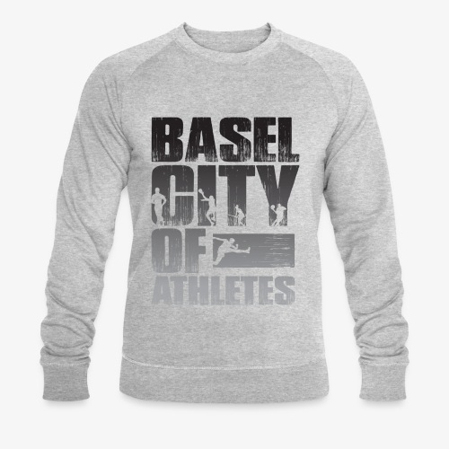 Basel City of Athletes B/W - Männer Bio-Sweatshirt von Stanley & Stella