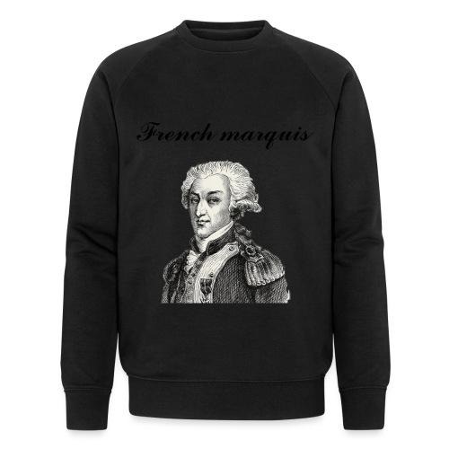 Sweat-shirt French marquis n°1 - Sweat-shirt bio