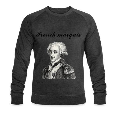 Sweat-shirt French marquis n°1 - Sweat-shirt bio Stanley & Stella Homme