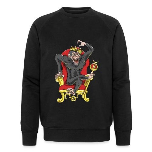 Bitcoin Monkey King - Beta Edition - Männer Bio-Sweatshirt von Stanley & Stella