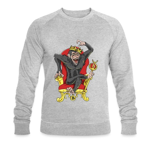 Bitcoin Monkey King - Beta Edition - Männer Bio-Sweatshirt