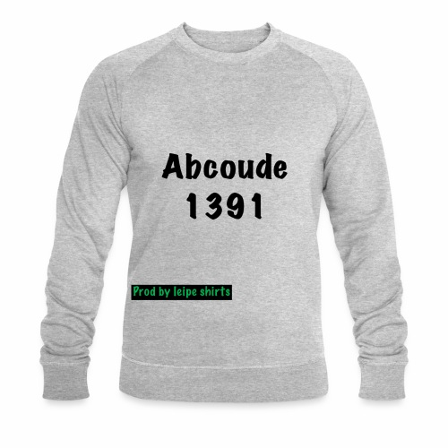 Abcoude post code merk - Mannen bio sweatshirt van Stanley & Stella