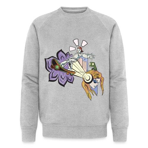 Spring Doodle - Mannen bio sweatshirt van Stanley & Stella