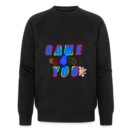 Game4You - Men's Organic Sweatshirt by Stanley & Stella